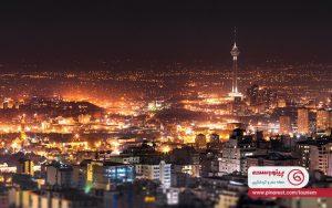 جاهای دنج تهران در شب